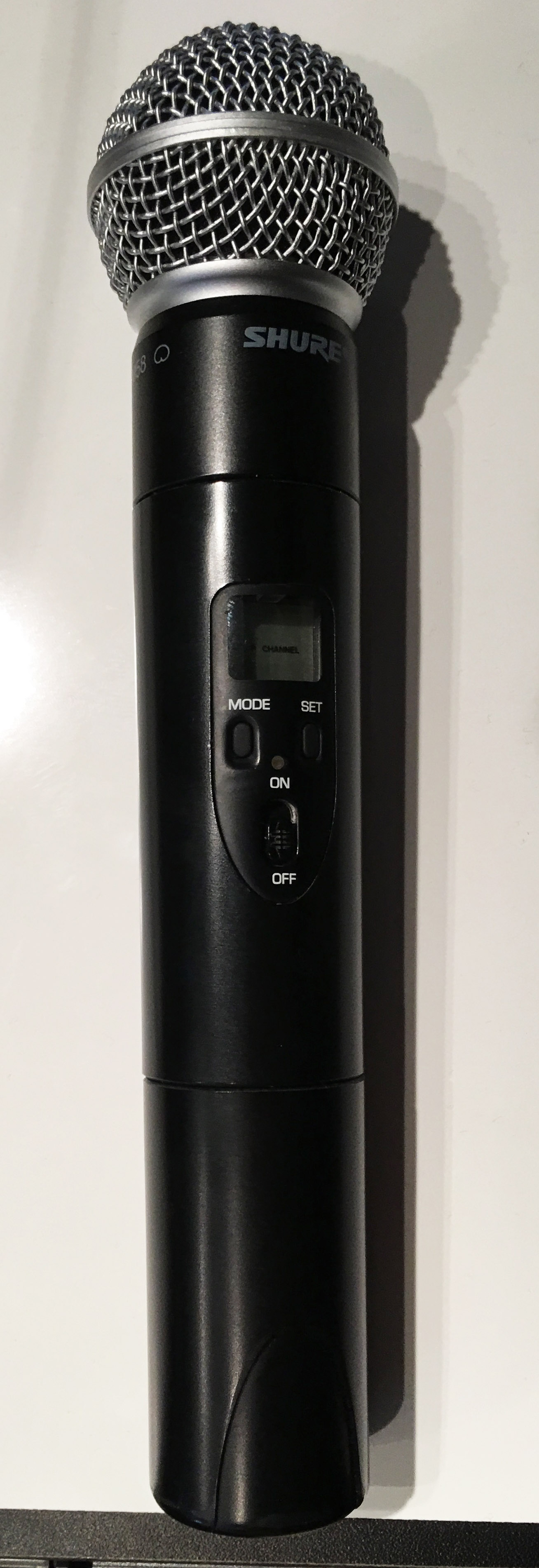 Image of a hand held microphone